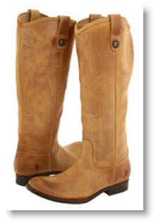 Frye Melissa Boots--LOVE Frye boots!  One day, I will have calves that'll fit into these beautiful boots.