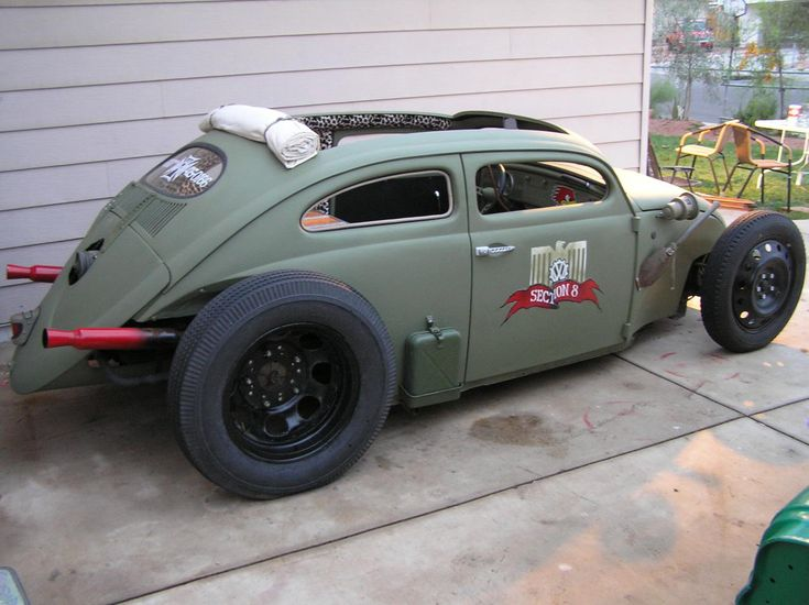 URBI-ET-ORBI……My Bucket List Journals.: Popular VW Beetle customizations/styles II- Rat Rods