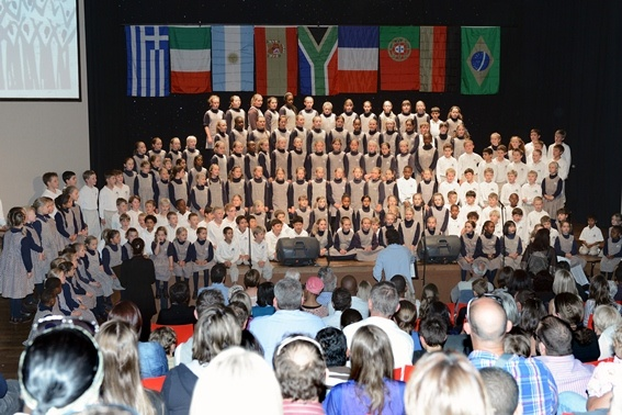 The Junior Campuses recently blew away the audiences at the Primary Schools Choir Festival.