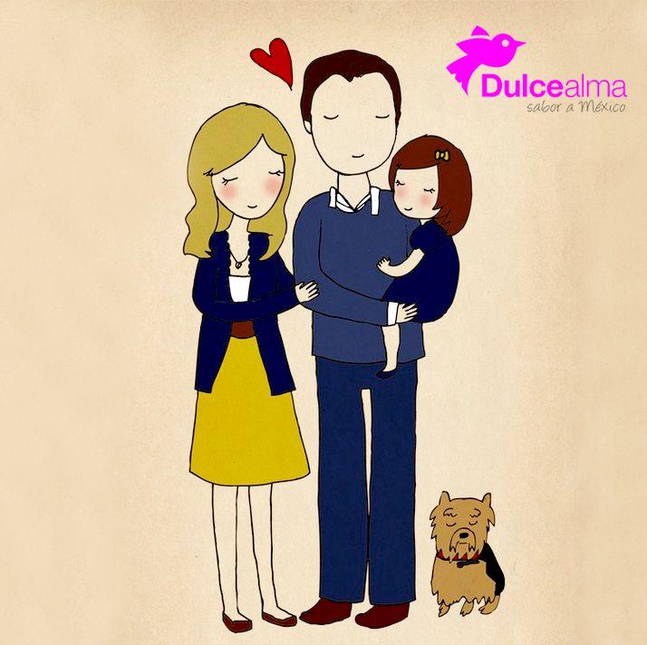 Jugar, amar y ser feliz. ¿Qué más quiere una familia? #DulceFamilia #DulceAlma #Sábado #CDMX