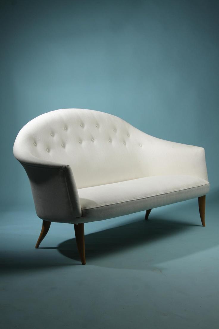 Sofa, Paradis. Designed by Kerstin Hörlin Holmqvist for NK, Sweden. 1958.