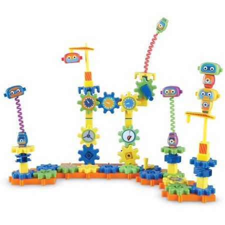 Learning Resources Gears! Robot Factory Building Set