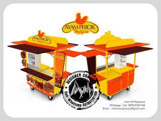 Desain Logo   Logo Kuliner    Desain Gerobak   Jasa Desain dan Produksi Gerobak   Branding: Desain Gerobak Ayam Percik Malaysia