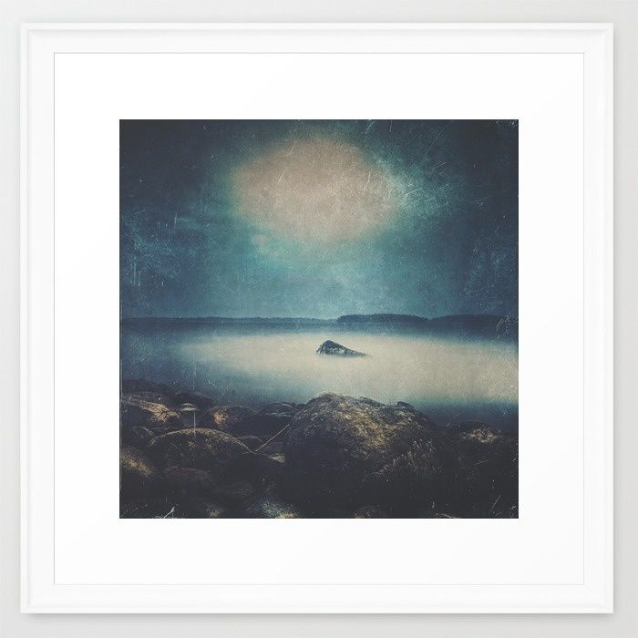 Dark Square Vol. 5 Framed Art Print