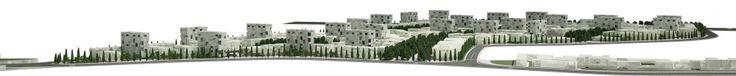 Mehrshahr Residential Complex Proposal / ContemporARchitectURban Designers Group: general elevation 01