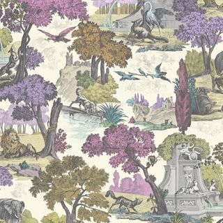 Wild wallpaper! Cole & Son, Versailles Grand wallpaper from Folie collection