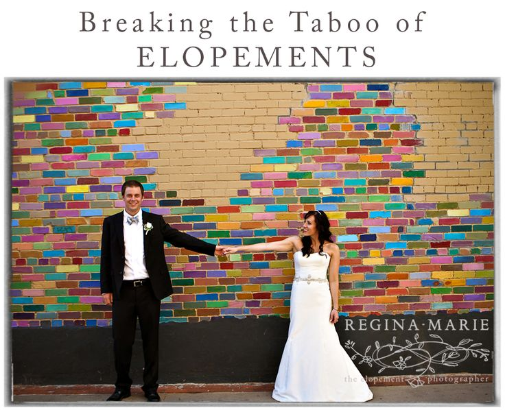 Eloping Is Fast Becoming A Respectable Dare
