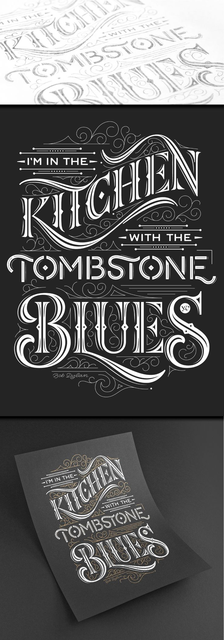 Tombstone Blues on Behance
