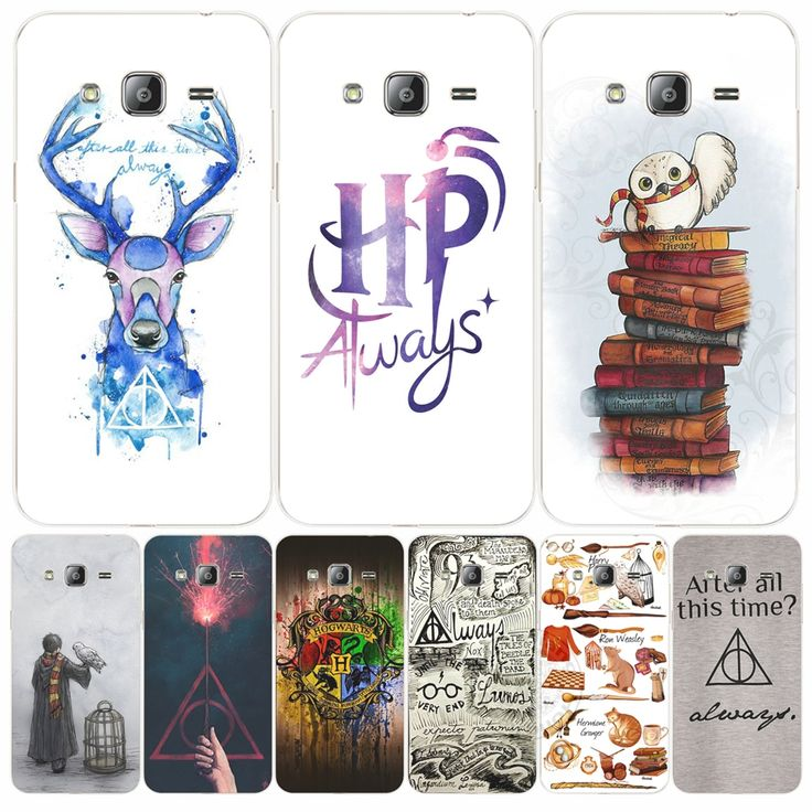 Veados sempre coruja de harry potter hallows howgwarts telefone capa case para samsung galaxy j1 j2 j3 j5 j7 mini ace 2017 2016 2015(China (Mainland))