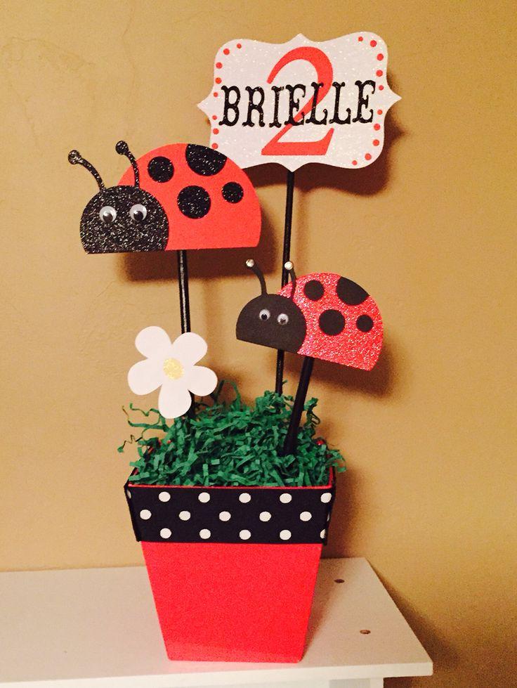 Best ladybug centerpieces ideas on pinterest