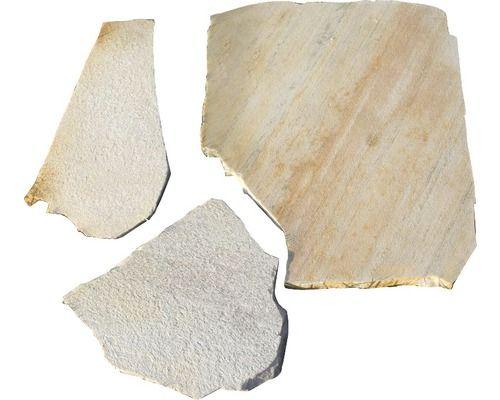 Quarzit Polygonalplatte Rio Dorado gelb 1,2-2,5cm stark bei HORNBACH ...