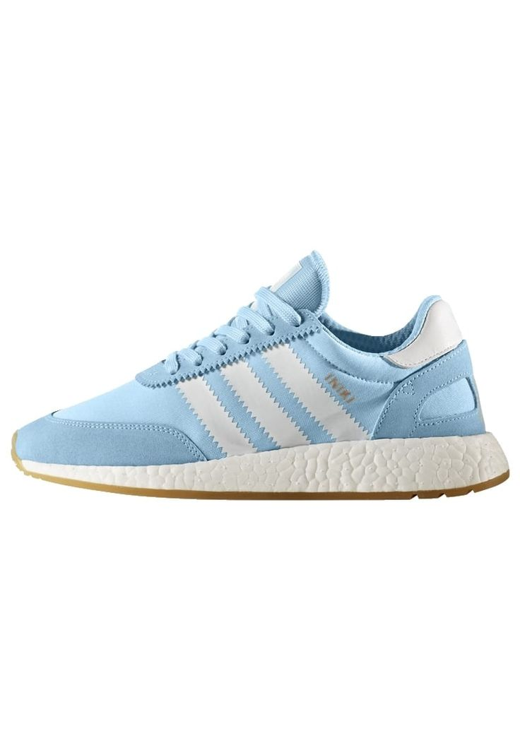 adidas Originals INIKI - Trainers - light blue/white for with free delivery  at Zalando