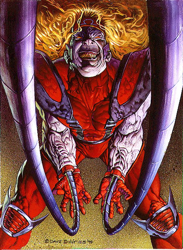 Omega Red by DaveDeVries on deviantART