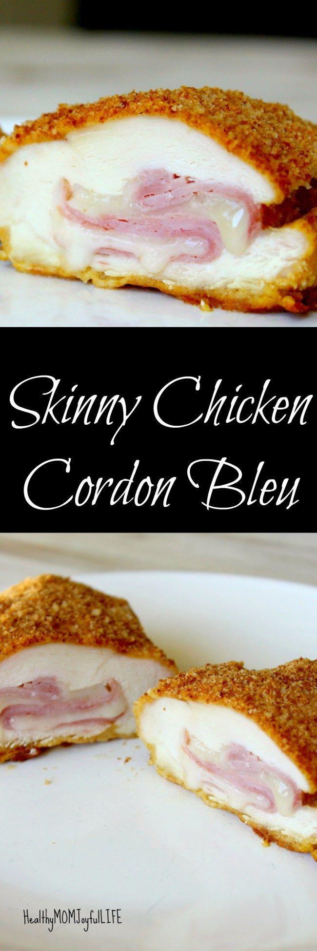 Skinny Chicken Cordon Bleu @ http://www.healthymomjoyfullife.com/2017/03/skinny-chicken-cordon-bleu/.html
