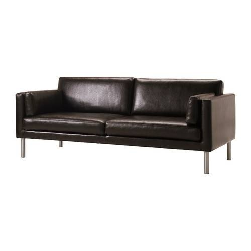 Modern Sofa IKEA S TER sofa Durable and easy care split leather that is practical for families with children High legs make it easy to clean the floor under the