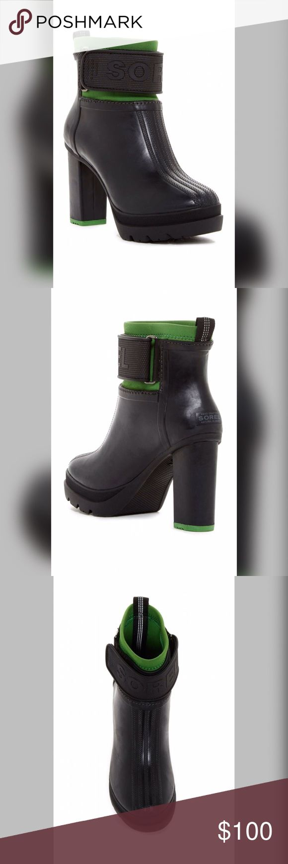 SALE Sorel Medina III Waterproof Boot SZ 7 Brand New in Box Sorel Medina III Waterproof Boots in size 7. Retail for $225 + tax. Soft and comfortable and 4 inches tall. Ready for St. Patrick's Day Celebration 😍❤Make me an offer.. Sorel Shoes Ankle Boots & Booties