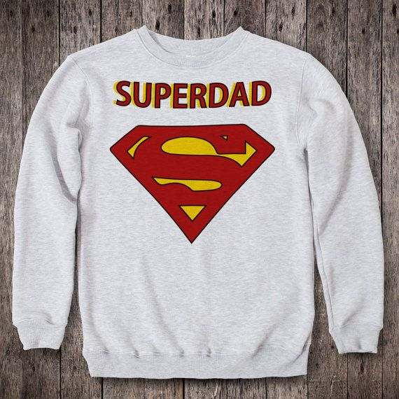 Superman Clothing for Papa Mens Daddy Sweater Funny от 2PApparel