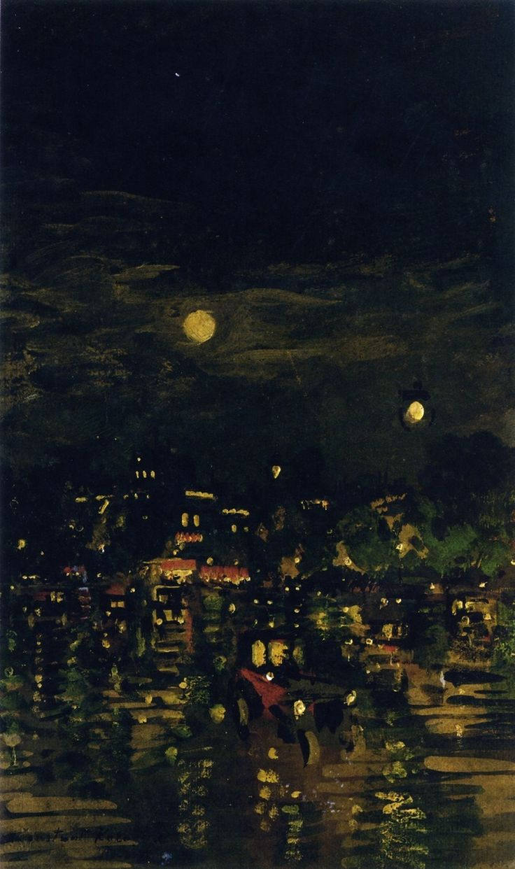 Konstantin Korovin - Paris at Night