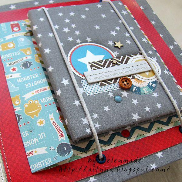 Космический альбом для мальчика - Скрапбукинг (бумажный) - Babyblog.ru