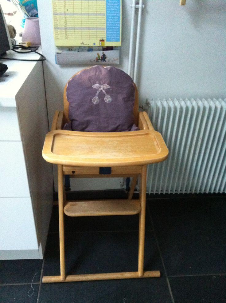 Cousin chaise haute pour ma bichette