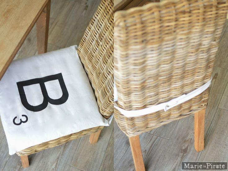 Tuto : Les galettes de chaises de Marie la Pirate - 2