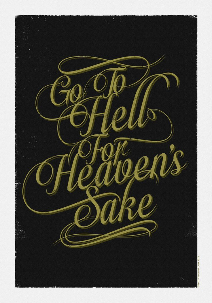 Go To Hell For Heavens Sake - Inspired by Bring Me The Horizon lyrics