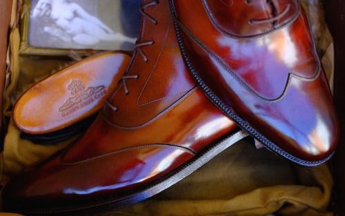http://chicerman.com  dandyshoecare:  Patina by Dandy Shoe Care - it is a synonym of Luxury and High Quality!  A lot of Passion and Hard Work. Just so you can get excellent results.  Dandy Shoe Care will do everything possible to make your shoes most beautiful in the world!  #menshoes
