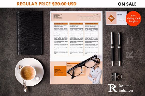 80% OFF SALE Office Assistant Resume Template  Personal