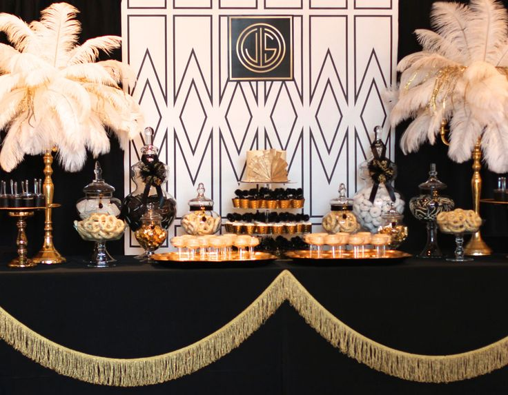 The Gatsby Themed Birthday Party is a great party if you're looking for birthday party ideas for teens or adults!