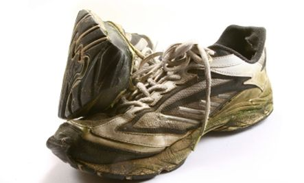 Repurposing Upcycling Old Running Shoes