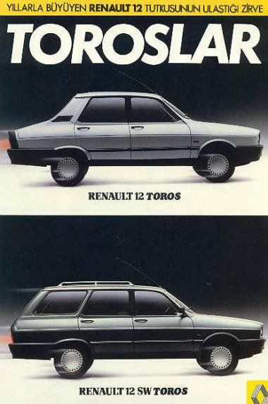 "Renault 12 ""Toros"" made in Turkey"