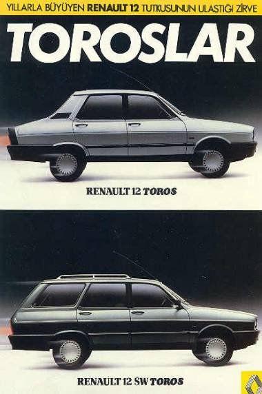 "Renault 12 ""Toros"" made in Turkey"