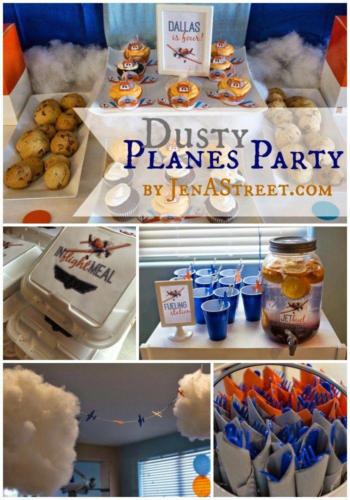 Jen A. Street: Disney Planes Party The Decor!