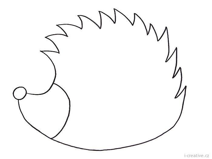 ježek šablona - Hledat Googlem