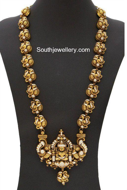 Peacock Nakshi Long Chain
