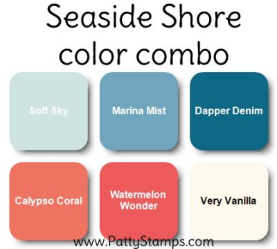 stampinup color combos, selecting colors for card making
