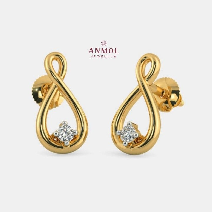 26 best Designer Latest fashionable Gold Earrings images on ...