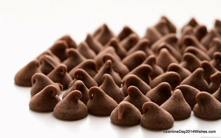 Chocolate Day Wallpaper HD - Kiss Chocolates [ValentineDay2014Wishes.com]