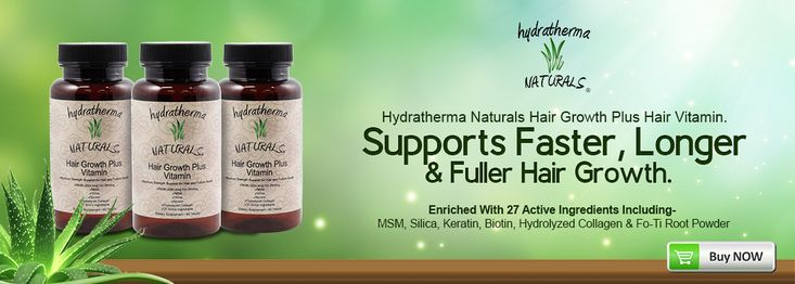 Hydratherma Naturals Black Hair Care Products | Home