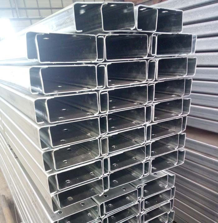 Factory Direct Export 1 5mm Thickness Galvanized Steel C Channel Key Words Steel C Channel Size 41x21mm 41x123mm Or Galvanized Steel Galvanized Steel Sheet