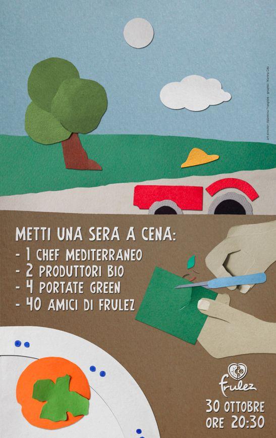 Frulez - Metti una sera a cena by Marina Cito, via Behance