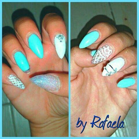Mint nails #salonderaf