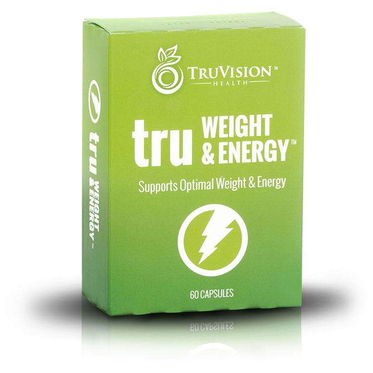 TruWEIGHT & ENERGY - Lose body fat, feel more energized, no special diet required. Pair it with the truFix for best results.