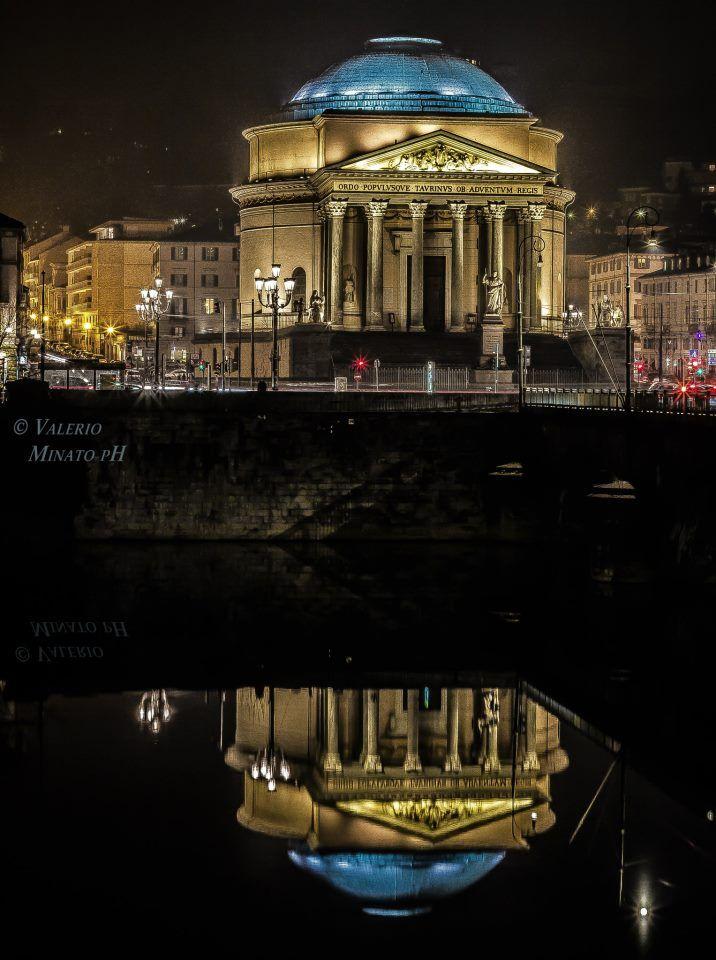 Chiesa della Gran Madre di Dio. Torino, Italy