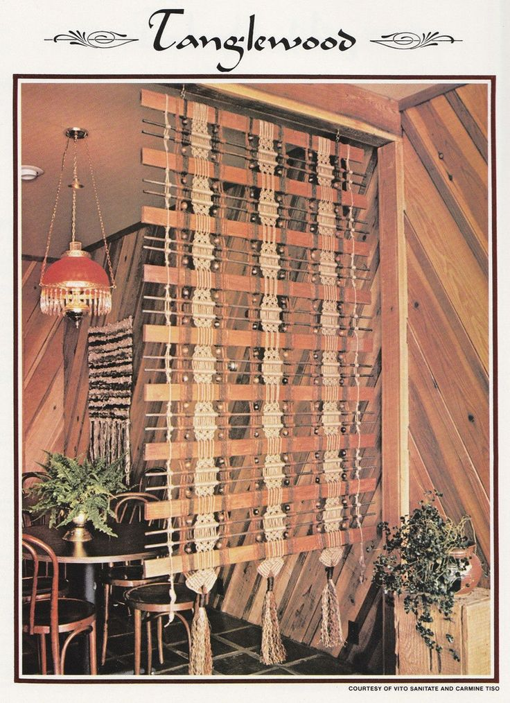 11 Macrame Patterns - Room Dividers Plant Hanger Wall Decor Valances Window Dressing Lamp Shade - Juliano's Hang It All Book 4 - SewJewel - 4
