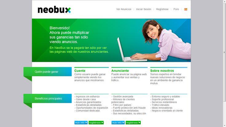 Gana 50 Dolares diarios con NeoBux desde tu hogar. Registrate Aqui : http://www.neobux.com/?r=corveti