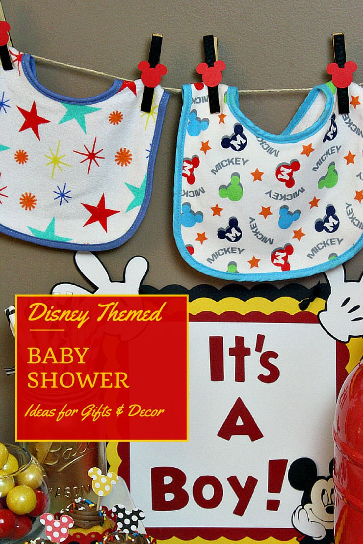 adorable and easy disney themed baby shower theme with disney baby