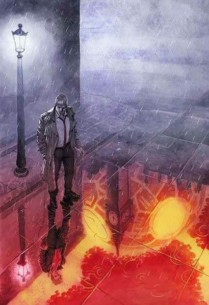 Constantine Vol 1 #20 Meaningful Gestures alternate cover by Juan Ferreyra  http://banba55.blog.fc2.com/blog-date-20150413.html
