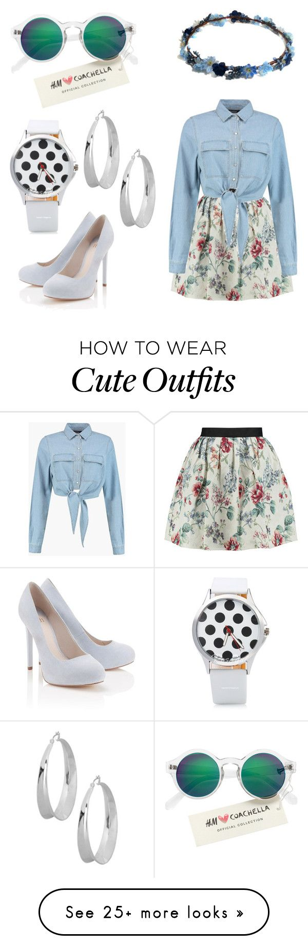 """""""Coachella Outfit"""" by jasmineafra25 on Polyvore featuring Raoul, Lipsy, H&M, Robert Lee Morris, coachella and specialcoachella"""