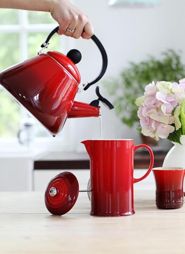 Le Creuset Coffee Plunger (needs to be in volcanic orange though!)